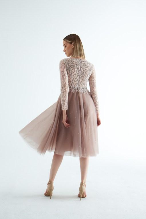 EK Nights Uzun Kollu Elbise