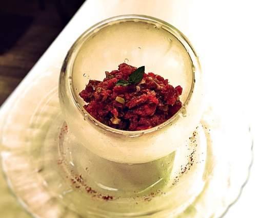 Tartar menu degustación Valhalla