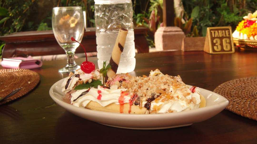 Banana Split - Cafe Wayat - Ubud