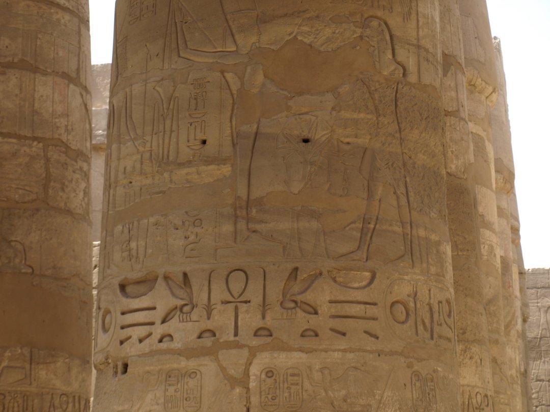 Detalle de grabado - Karnak