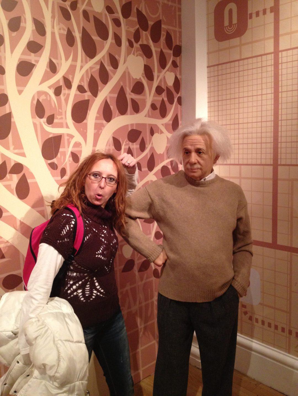 Con Einstein - Londres