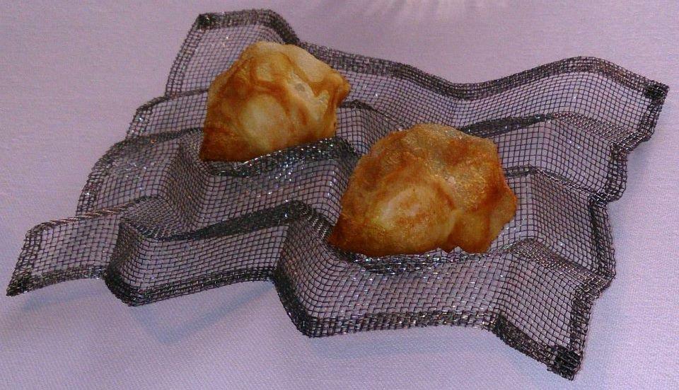 Huevo frito de codorniz y patata - El Casino de Madrid