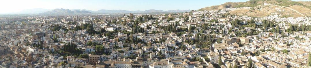 Otra vista de Granada