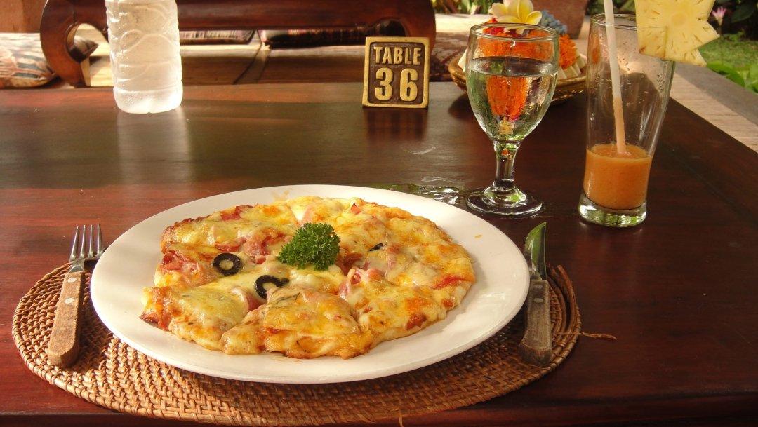 Pizza - Cafe Wayat - Ubud (Bali)