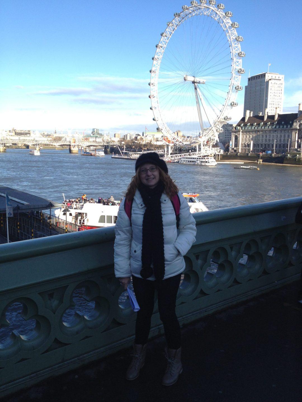 Yo en Londres