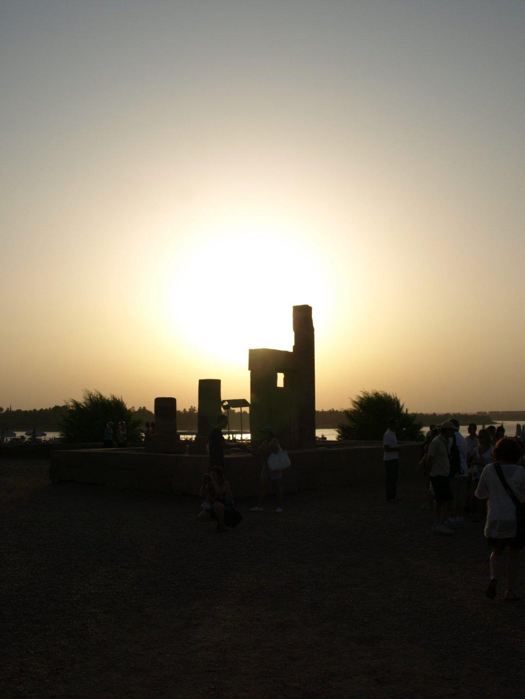 Ocaso - Egipto
