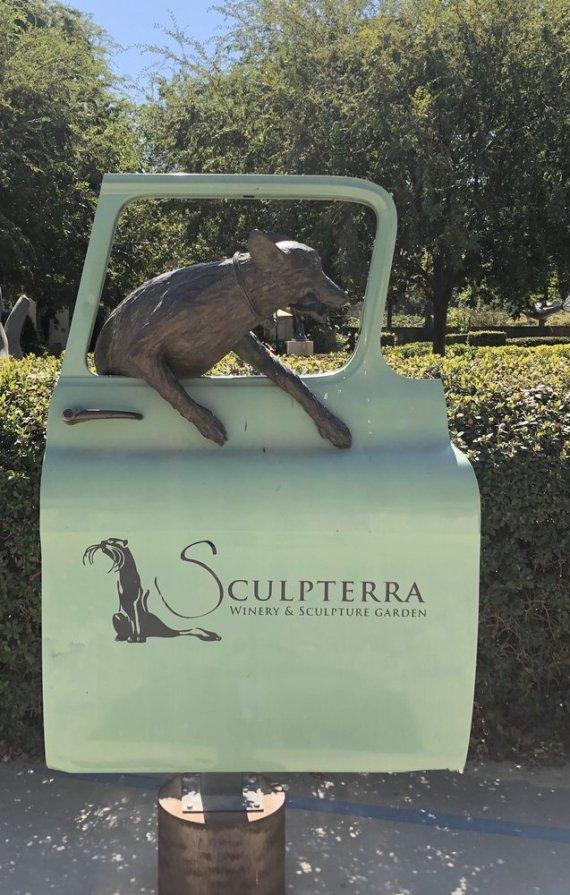 Entrada a Sculpterra