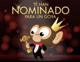 Te han nominado para un Goya