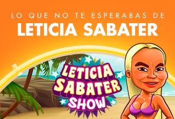 Lo que no te esperabas de Leticia Sabater