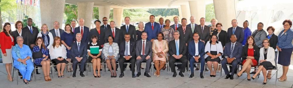 Participantes a la Conferencia Sanitaria Panamericana