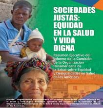 Sociedades Justas: equidad en salud y vida digna