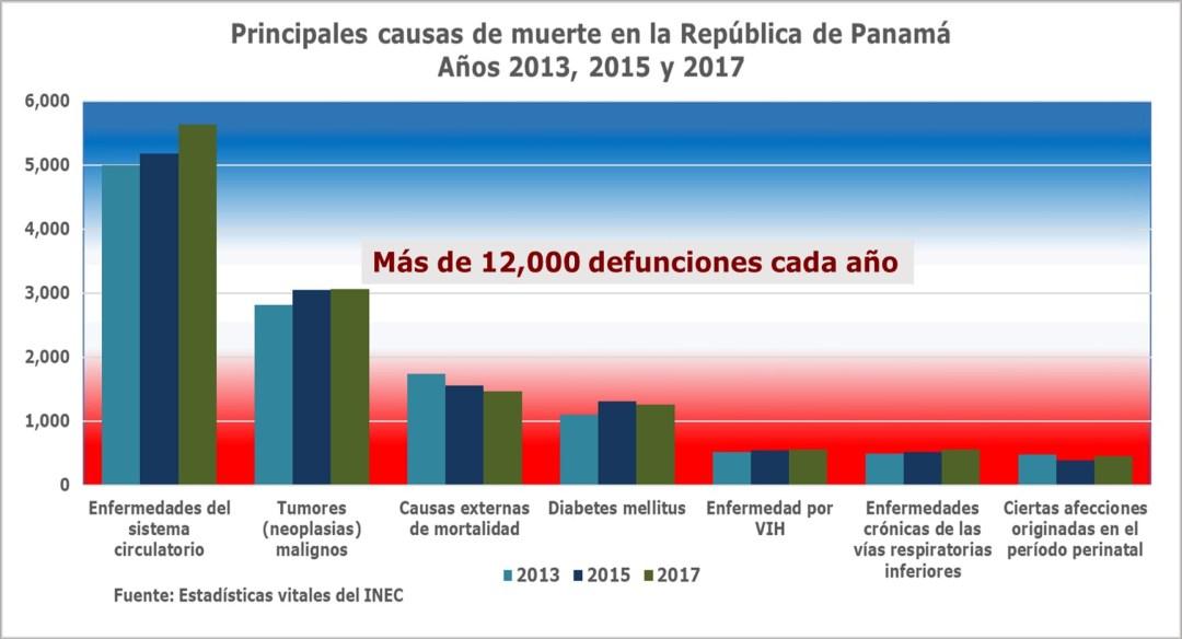 Causas de muerte 2013-2017