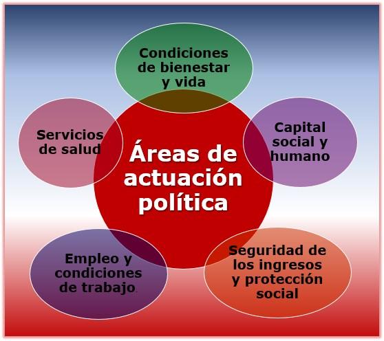 Areas de actuación política