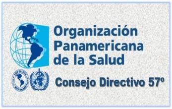 Consejo Directivo 57 de la Organización Panamericana de la Salud