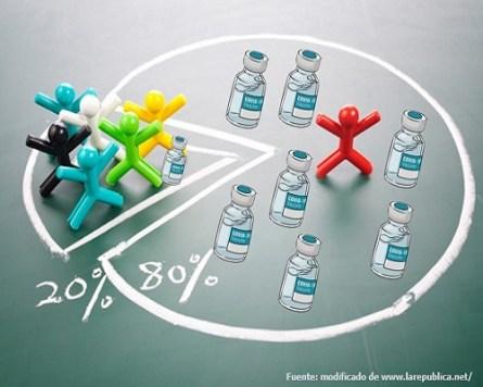 Feroz competencia por las vacunas contra la COVID-19