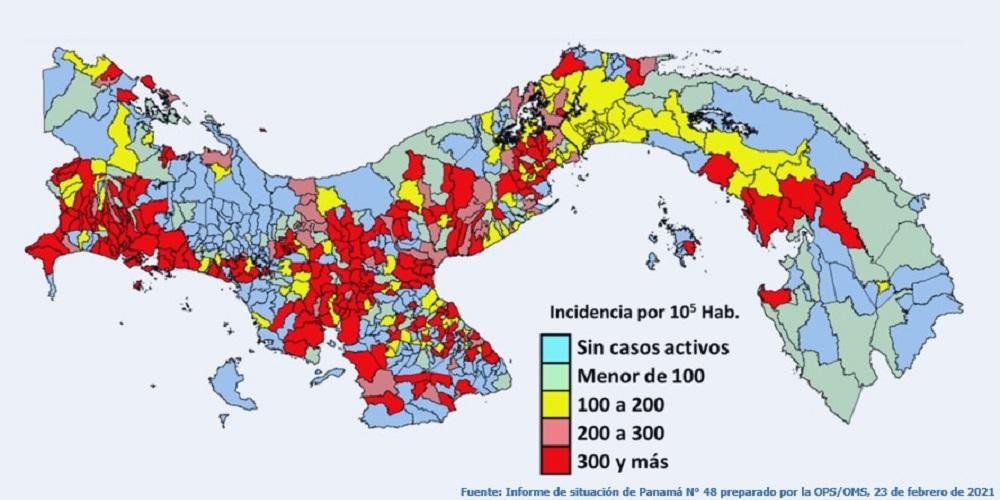 Epidemia de COVID-19 en Panamá