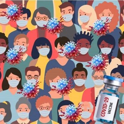 Vacunas, variantes y reuniones masivas