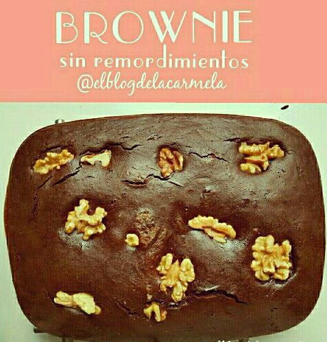 brownie de chocolate sin azucar