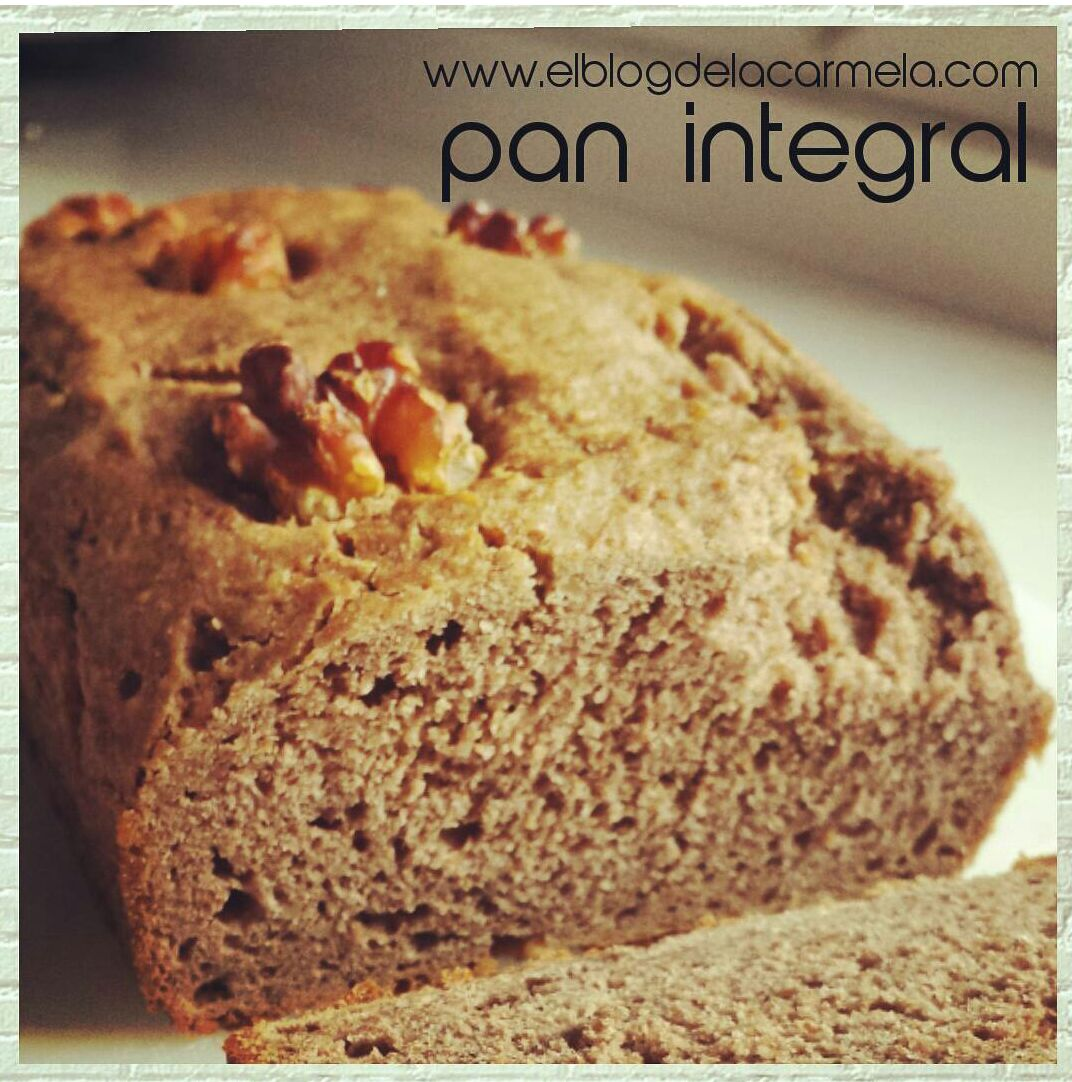 Pan integral con nueces (receta con thermomix)