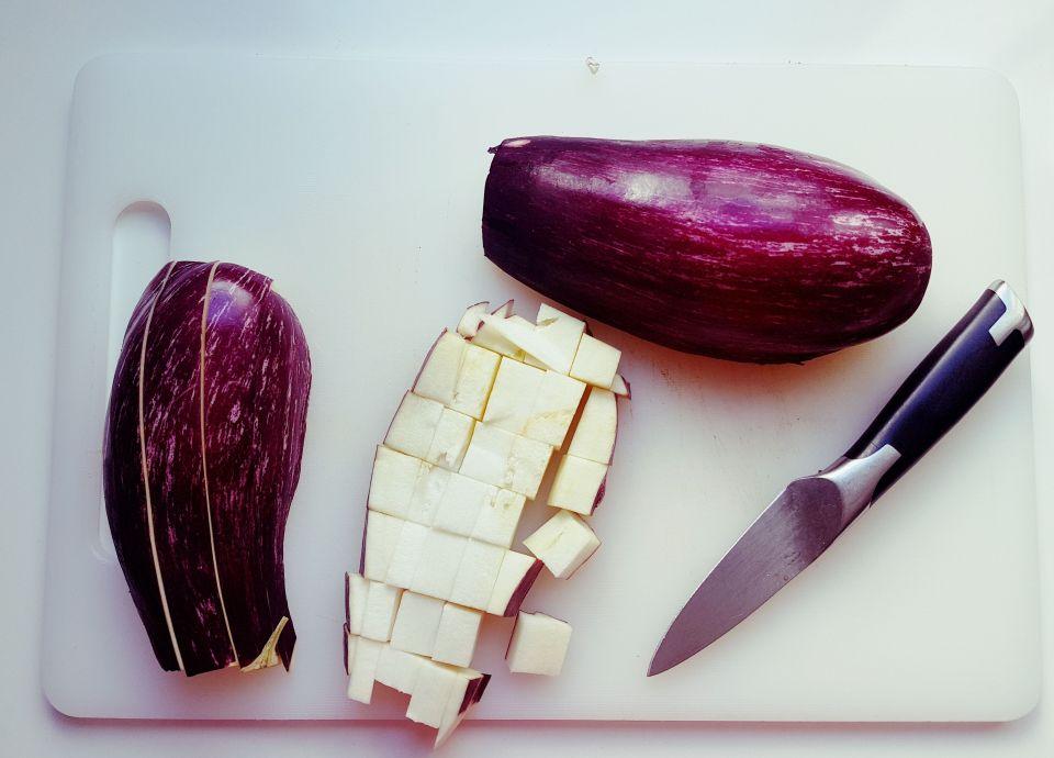berenjenas horneadas con coco