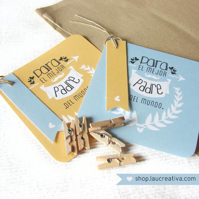 LA CHACHITIENDA | Set para envolver los regalos del Día del Padre