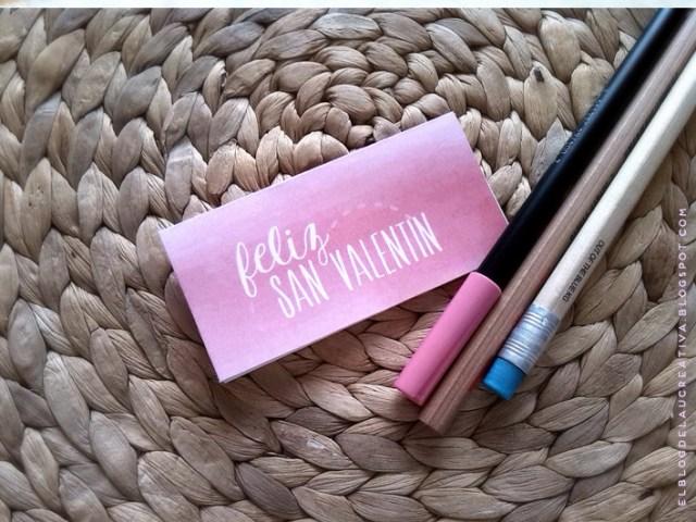 IMPRIMIBLE   Etiquetas para tus regalos de San Valentín