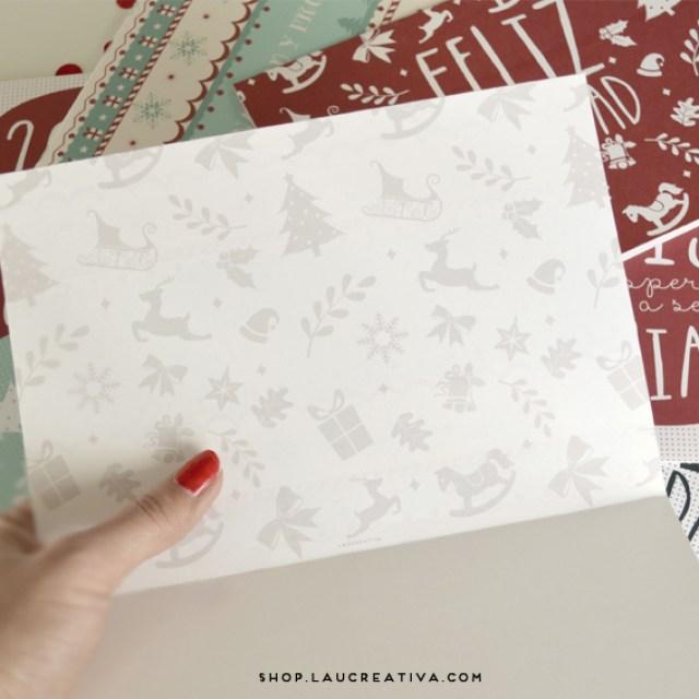 LA CHACHITIENDA | Postales y bolsas kraft navideñas