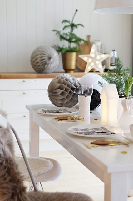 DECO   Ideas para decorar la mesa en Navidad