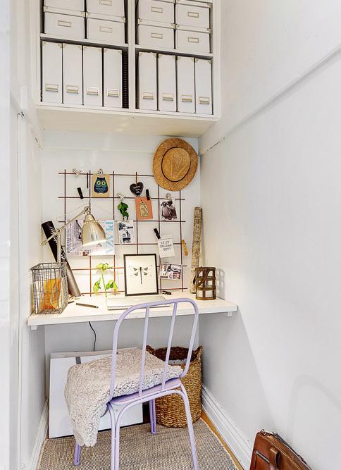 DECO | Un bonito piso todo blanco