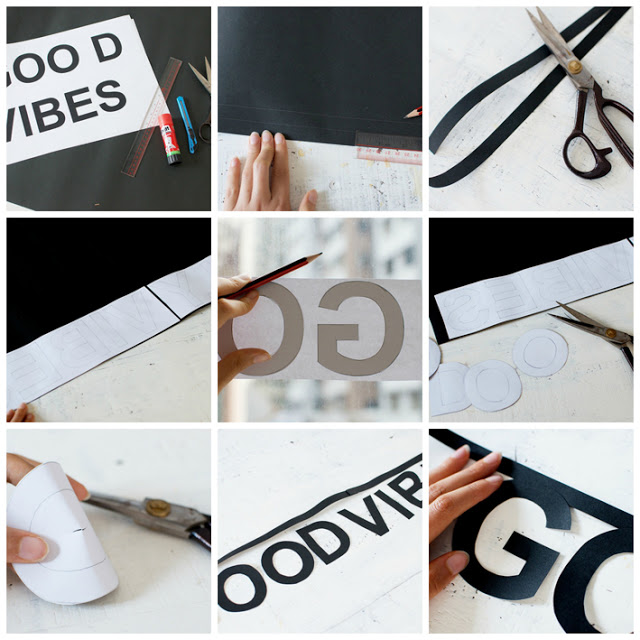 DIY | Haz tu propia guirnalda de letras