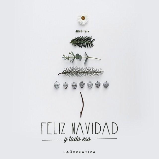 felicitación navidad_Laucreativa