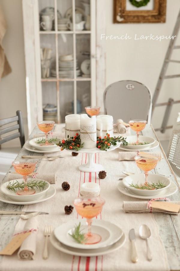 DECO | Ideas y tutoriales para decorar tu mesa en Navidad