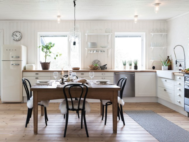 DECO | Una casa nórdica con una decoración con objetos vintage