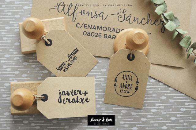 Sello Personalizado para tu boda