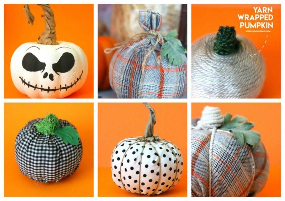 diy-decoracion-calabazas-halloween-terrorificas-tela-pintura