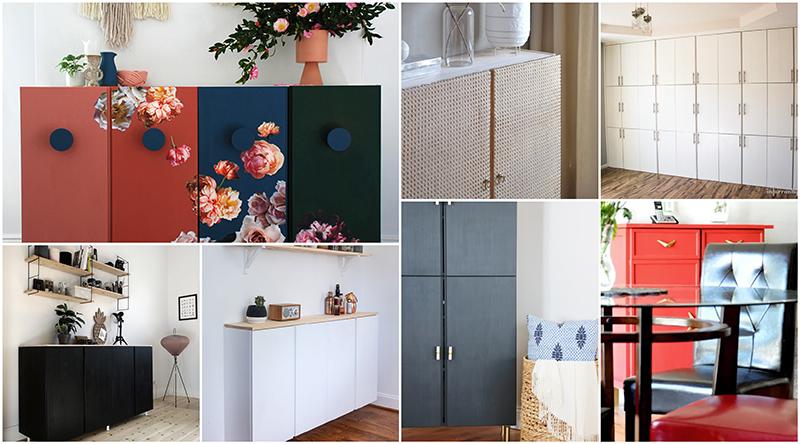 IKEA HACK | 9 diy con la armario Ivar de Ikea - El blog de Laucreativa