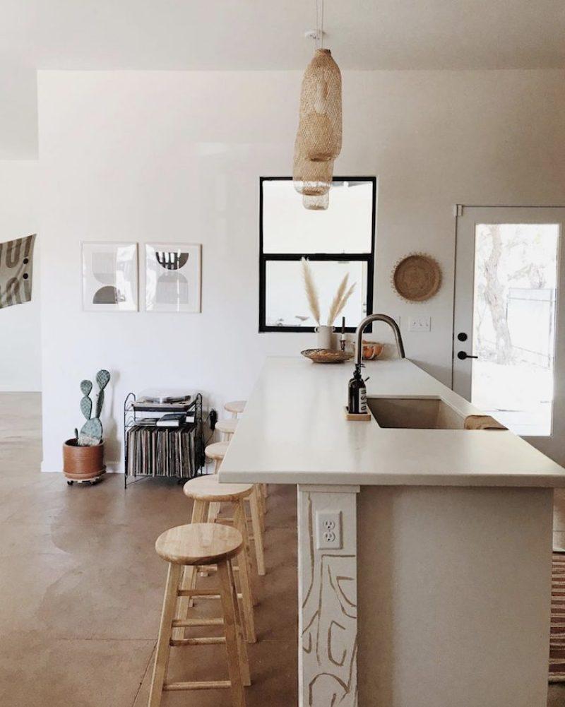 DECO | Decoración nórdica con tonos tierra. La cocina - El blog de Laucreativa
