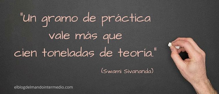 Practica lo que aprendes