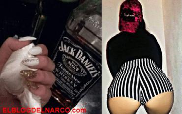 Ella es la atractiva joven detenida por posesión de drogas en Chimalhuacán