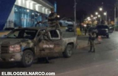 Borrachos rebasan convoy militar y soldados se acalambran y les disparan acribillándolos en Nuevo Laredo