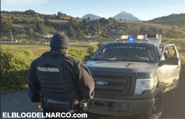 Con patrullas clonadas y retenes falsos, se enfrentan sicario contra policías Federas en Puebla.