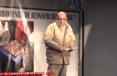 El discurso de Servando Gómez La Tuta, en el penal de El Altiplano, dio ordenes a sus Caballeros Templarios