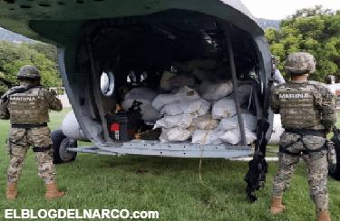 Elementos de la Marina aseguran casi dos toneladas de cocaína en costas de Guerrero. (Vídeo)