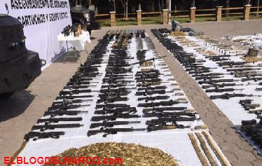 En 20 años aumentaron 570% los homicidios por arma de fuego en México.