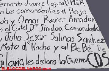 Firmaste tu sentencia de muerte por vendido, Sicarios amenazan con narcomantas a Director del penal de Cancún.
