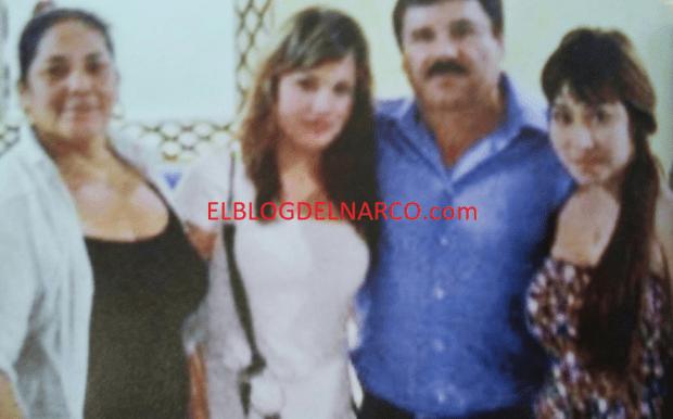 Fotografía inedita de Joaquín Guzmán Loera el Chapo Guzmán días antes de uno de sus escape.