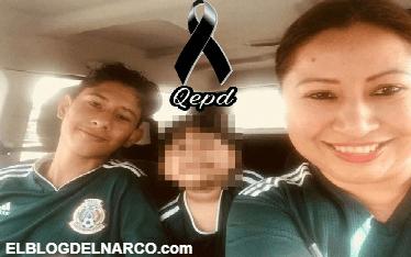 Joven futbolista y su mama son ejecutados en reten de sicarios en Reynosa