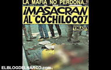 "La historia del hombre que olía a plomo Manuel Salcido Uzeta el ""Cochiloco"", el vengador de Pedro Avilés"