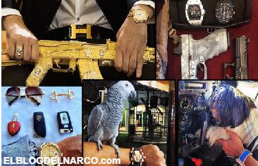 Los capos en México exhiben hace años su poder económico ilimitado… hasta en los relojes.