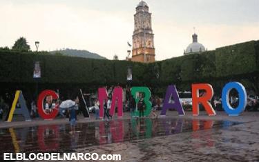Ante narco-violencia y ejecuciones, cancelan ceremonia del Grito en Acámbaro, Guanajuato